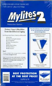 Mylites 2 Standard Size Mylar Bags x50 E.Gerber Archival Storage Supply678